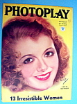 Photoplay Magazine Cover August 1934 Janet Gaynor