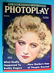 Photoplay Magazine Cover March 1932 Miriam Hopkins