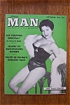 Click here to enlarge image and see more about item 936: Vintage Modern Man Magazine - September 1955