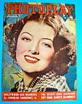 Photoplay Magazine Cover September 1937 Myrna Loy