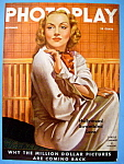 Photoplay Magazine Cover November 1935 Carole Lombard