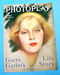 Photoplay Magazine Cover May 1928 Greta Garbo