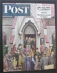 Click here to enlarge image and see more about item 945: Saturday Evening Post Cover -Dohanos- April 16, 1949