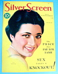 Silver Screen Magazine Cover March 1931 Kay Francis