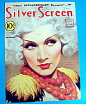 Silver Screen Magazine Cover Oct 1932 Marlene Dietrich