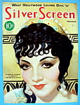 Silver Screen Magazine Cover Nov 1932 Claudette Colbert