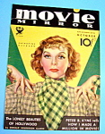 Movie Mirror Magazine Cover Oct 1933 Katharine Hepburn