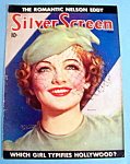 Silver Screen Magazine Cover July 1936 Myrna Loy