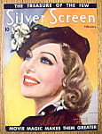 Silver Screen Magazine Cover Feb 1936 Loretta Young