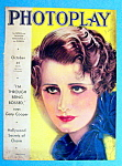 Photoplay Magazine Cover October 1932 Irene Dunne