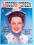 Modern Screen Magazine Cover April 1941 O. De Havilland