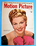 Motion Picture Magazine Cover March 1947 Joan Caulfield