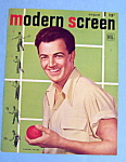 Modern Screen Magazine Cover August 1947 Cornel Wilde