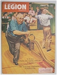 Click here to enlarge image and see more about item 958: Legion Magazine - February 1949 - Wally  Richards Cover