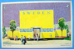 Swedish Building Postcard (1933 Century Of Progress)
