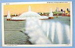 Click to view larger image of Fountain In Chicago Postcard (Chicago World's Fair) (Image1)