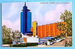 1933 Century of Progress Carillon Tower Postcard