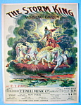 E.T. Paul 1902 The Storm King March Sheet Music