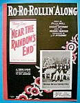 Sheet Music For 1930 Ro Ro Rollin' Along