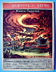 E.T. Paull 1903 The Burning Of Rome Sheet Music