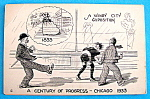 1933 Century of Progress, Windy City Postcard