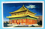 Click to view larger image of Golden Temple of Jehol By Night Postcard (World's Fair) (Image1)