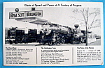 Click to view larger image of 1933 Century of Progress, The Royal Scot Postcard (Image1)
