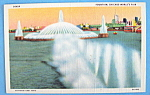 Click to view larger image of Fountain Postcard (1933 Century Of Progress) (Image1)