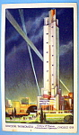 Havoline Thermometer Postcard (Chicago Fair)