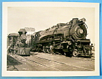 Click here to enlarge image and see more about item 9754: 1949 Chicago Railroad Fair, General Motors Train Yard