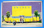 Postcard Of Swedish Building (Chicago World's Fair)