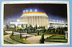 1933 Century of Progress, Ford Building Postcard