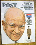 Click to view larger image of Saturday Evening Post Magazine-April 8, 1967-Eisenhower (Image1)