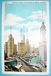 1933 Century of Progress, Michigan Avenue Postcard