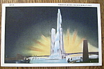 Tower Of Water Postcard (1933 Century Of Progress)