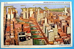 Bridges Spanning Chicago River Postcard (Chicago Fair)