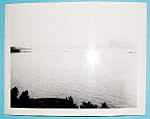 Click here to enlarge image and see more about item 9991: 1939 Manhattan Skyline From Statue Of Liberty Photo