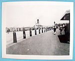 Click here to enlarge image and see more about item 9994: 1939 Photograph At Battery Park (Excursion Boat Docks)