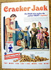 1954 Cracker Jack with Children Trick Or Treating