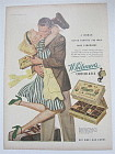 1944 Whitman's Sampler with Woman Hugging Soldier