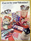 1978 3 Musketeers, Milky Way & Snickers For Valentine
