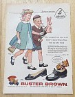 1958 Buster Brown Shoes with Children By Alex Ross