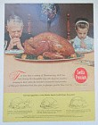 1963 Swift's Premium Turkey with Thanksgiving Prayers