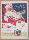 1946 Camel Cigarettes with Santa Claus