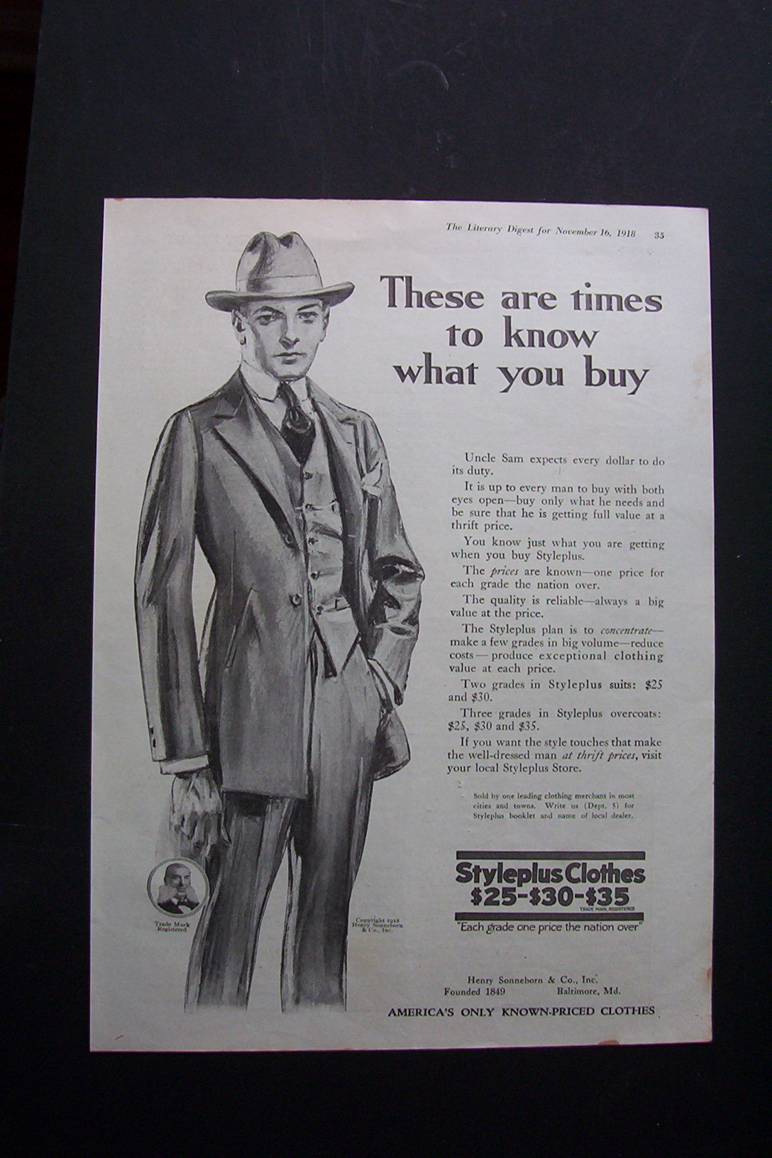 1918 Styleplus Clothes (Clothing) at Ads By Dee