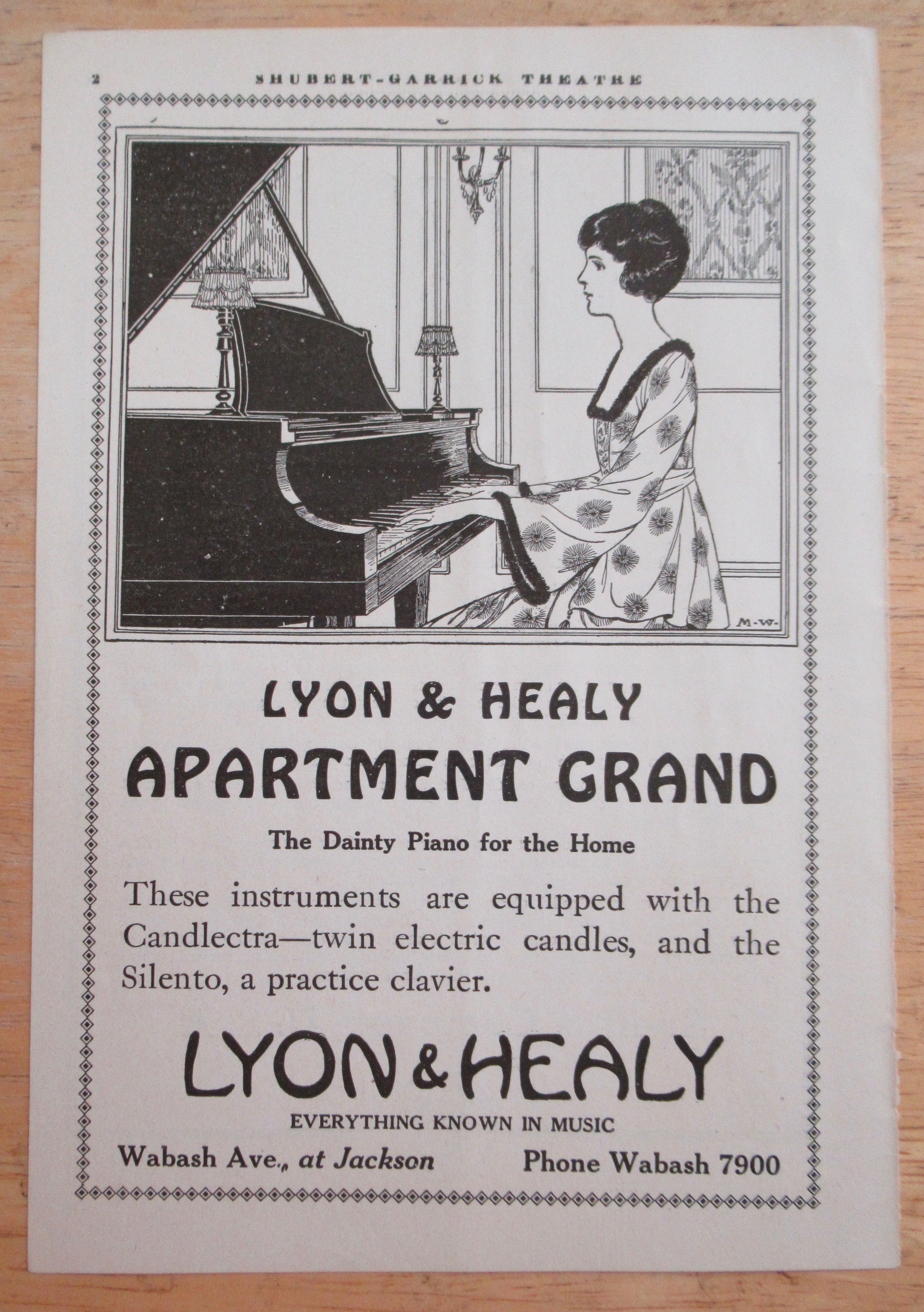 Tias Mall Ads By Dee Household Furniture 1919 Lyon Healy Apartment Grand Piano W Woman Playing