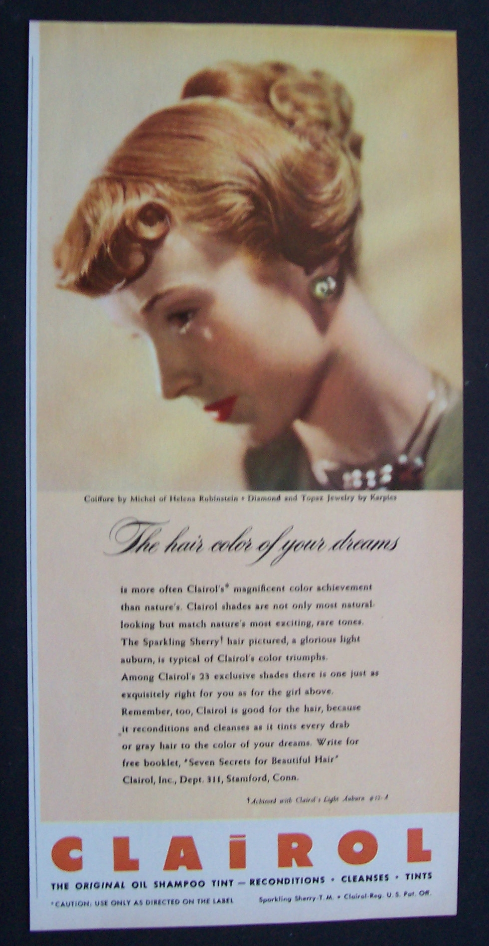 1947 Clairol Hygiene At Ads By Dee