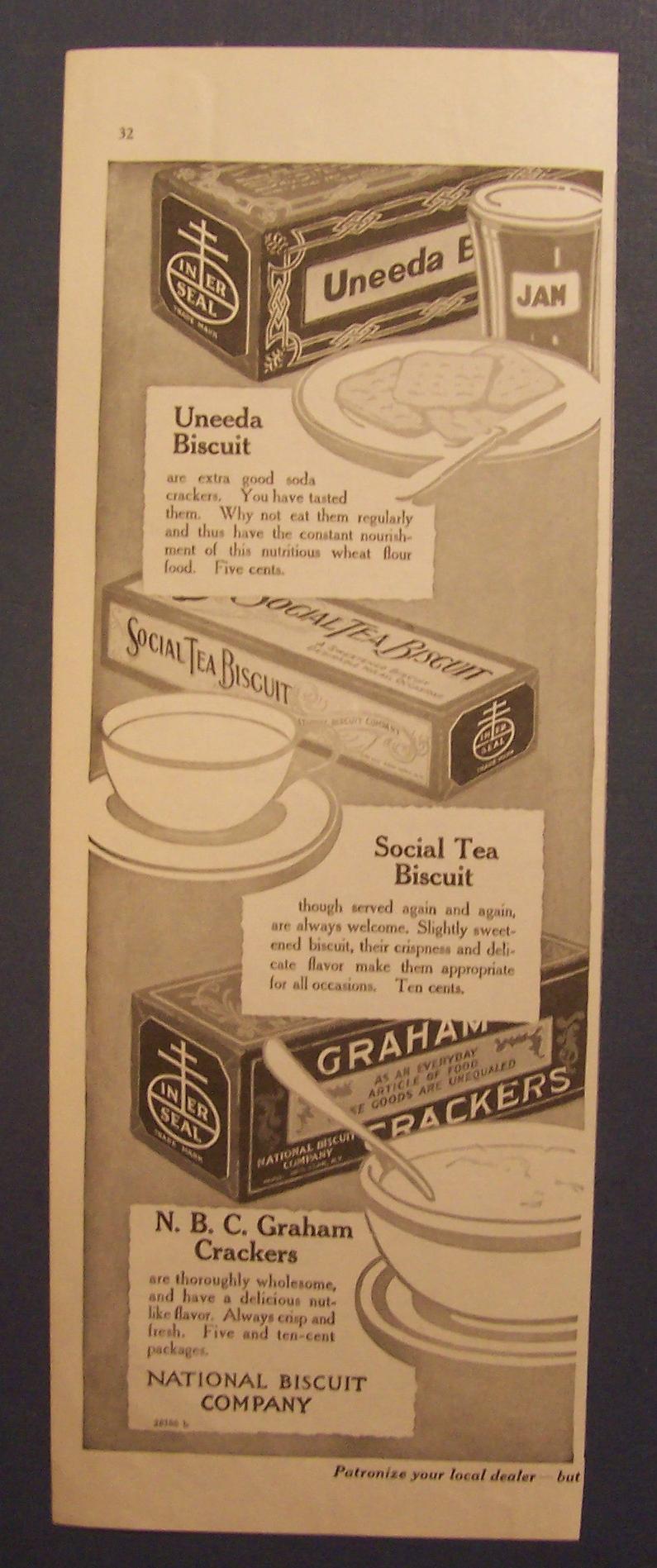 social tea crackers