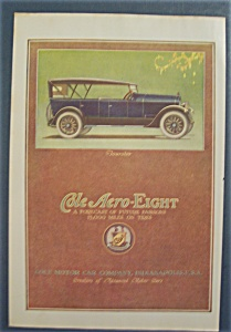 Vintage Ad: 1920 Cole Aero-Eight (Image1)