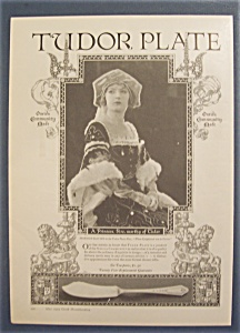 1923 Tudor Plate with Marion Davies (Image1)